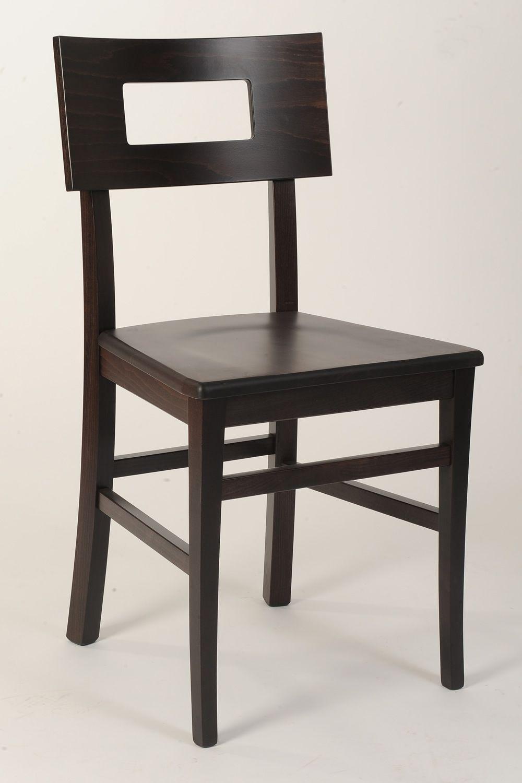 Mu212 sedia in legno diverse tinte disponibili con - Sostituire seduta sedia ...