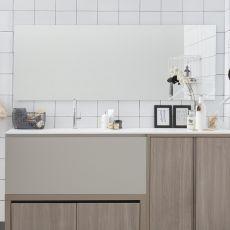 Filo Lucido - Rechteckiger Spiegel, in verschiedenen Größen verfügbar