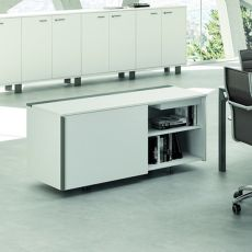 Office X8 Cabinet - Office service cabinet, in metal and laminate, available in different dimensions