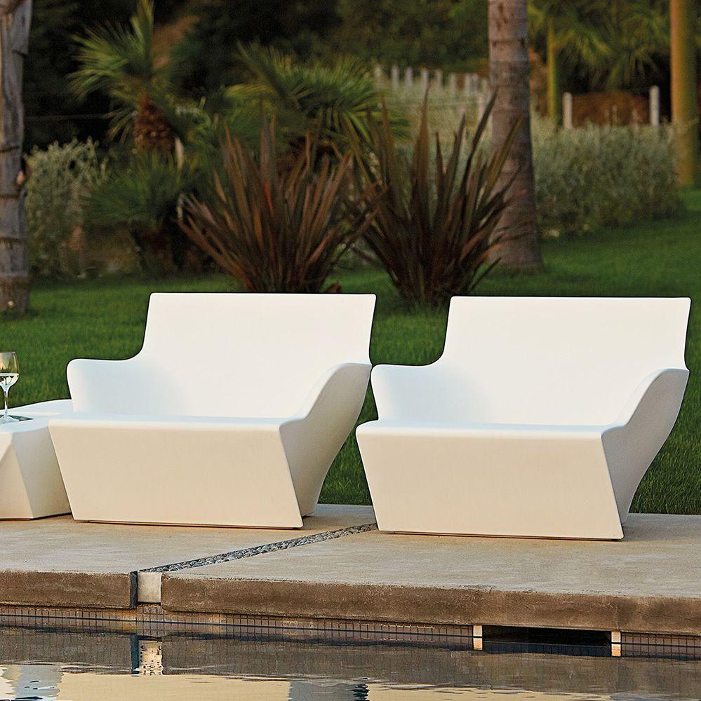 kami san sessel slide aus polyethylen auch f r den. Black Bedroom Furniture Sets. Home Design Ideas