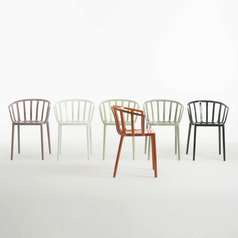Venice sedia kartell di design in policarbonato for Sedie di design