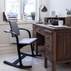 Actulum™ Balans® - Actulum™ Balans® Stuhl von Variér®, mit Armlehnen, verschiedene Farben