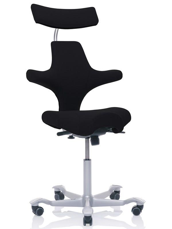capisco 8107 promo ergonomischer b rostuhl von h g settelf rmiger sitz und kopfst tze im. Black Bedroom Furniture Sets. Home Design Ideas