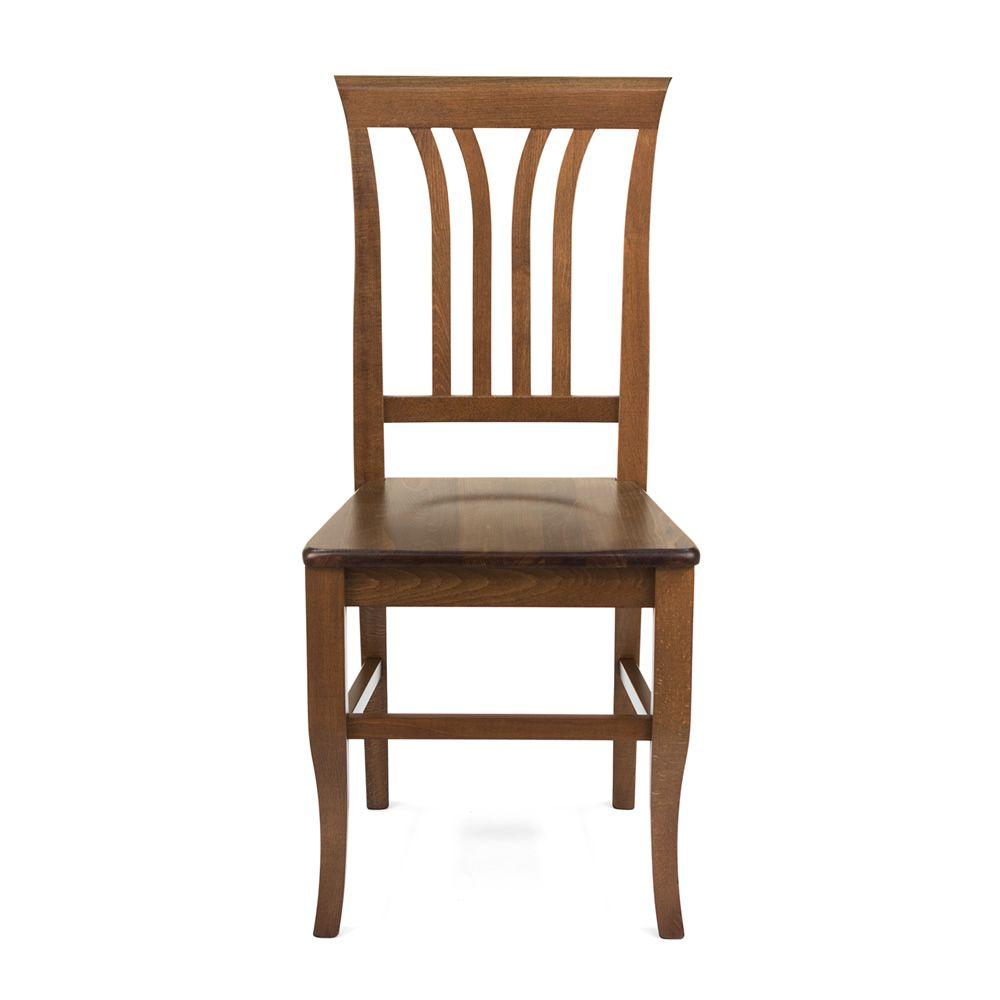 Mu47 bis chaise rustique en bois diff rentes teintes for Assise de chaise en bois