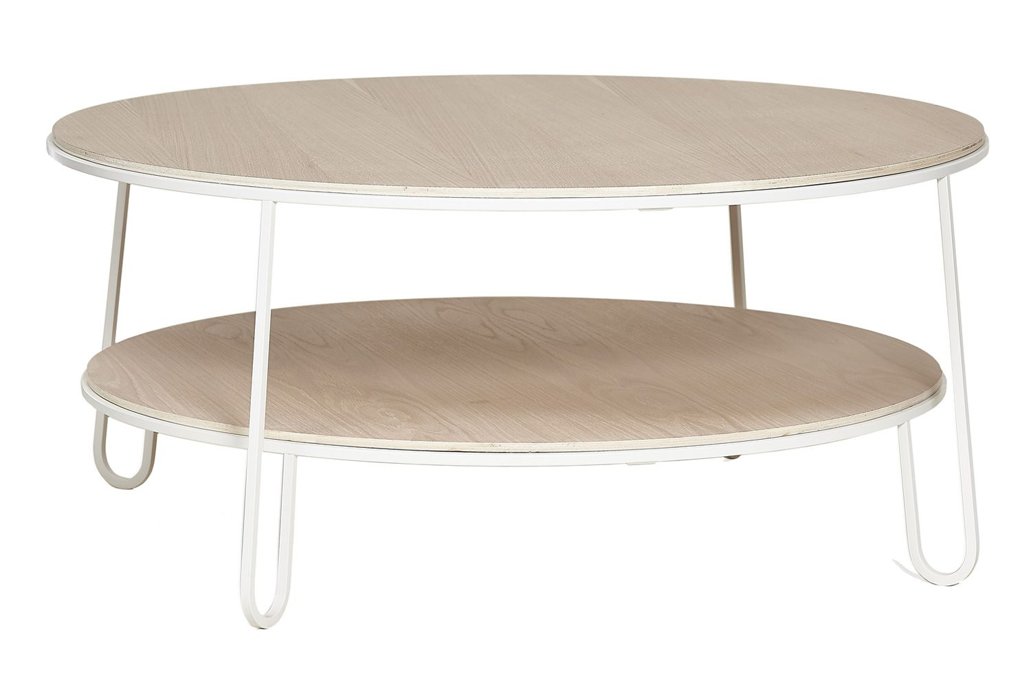 Table Basse Bois Metal Blanc Table Basse Ronde En Verre Design Df