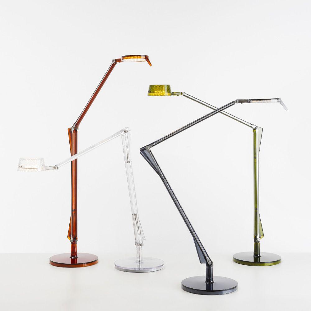 Aledin lampada da tavolo kartell in policarbonato e for Lampade kartell outlet