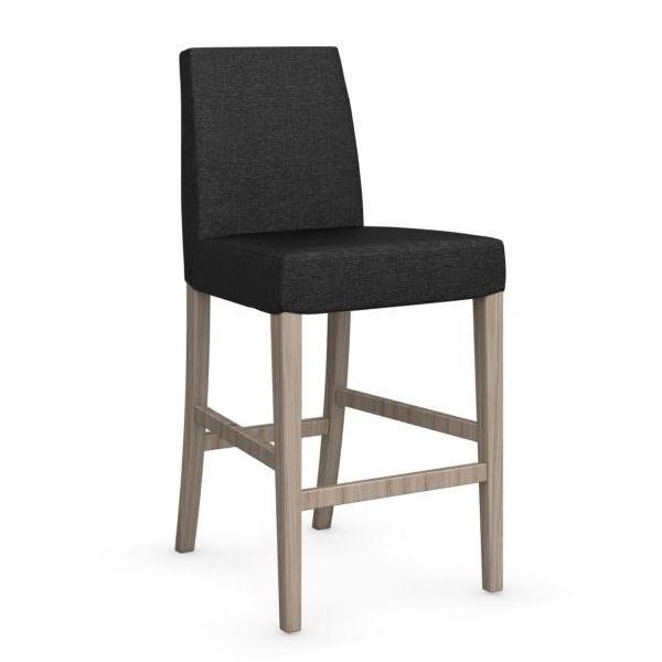 cs1466 dolcevita hocker calligaris aus holz sitz mit stoff bezogen sitzh he 65 cm sediarreda. Black Bedroom Furniture Sets. Home Design Ideas