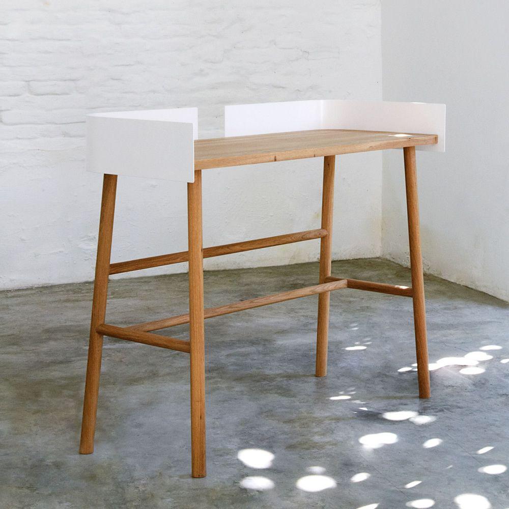 b desk schreibtisch universo positivo aus holz mit. Black Bedroom Furniture Sets. Home Design Ideas