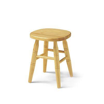 Av303 taburete r stico bajo en madera de pino distintos for Taburetes de madera rusticos