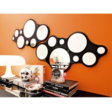 CB5029 Bubbles - Miroir moderne Connubia - Calligaris, en différentes couleurs