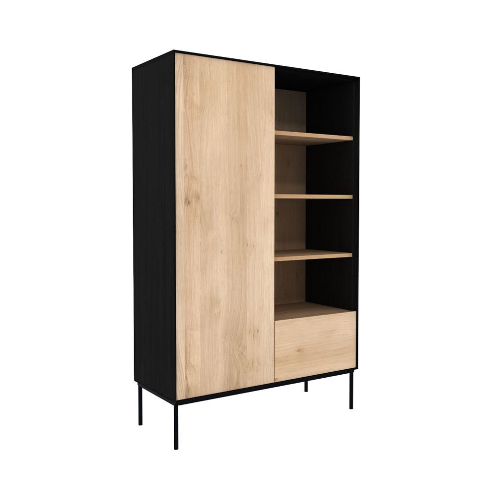 Blackbird b meuble d 39 appoint biblioth que ethnicraft en for Meuble anglais traduction