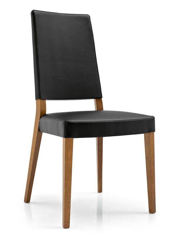 Cb1260 sandy silla connubia calligaris de madera - Tapizado de silla ...