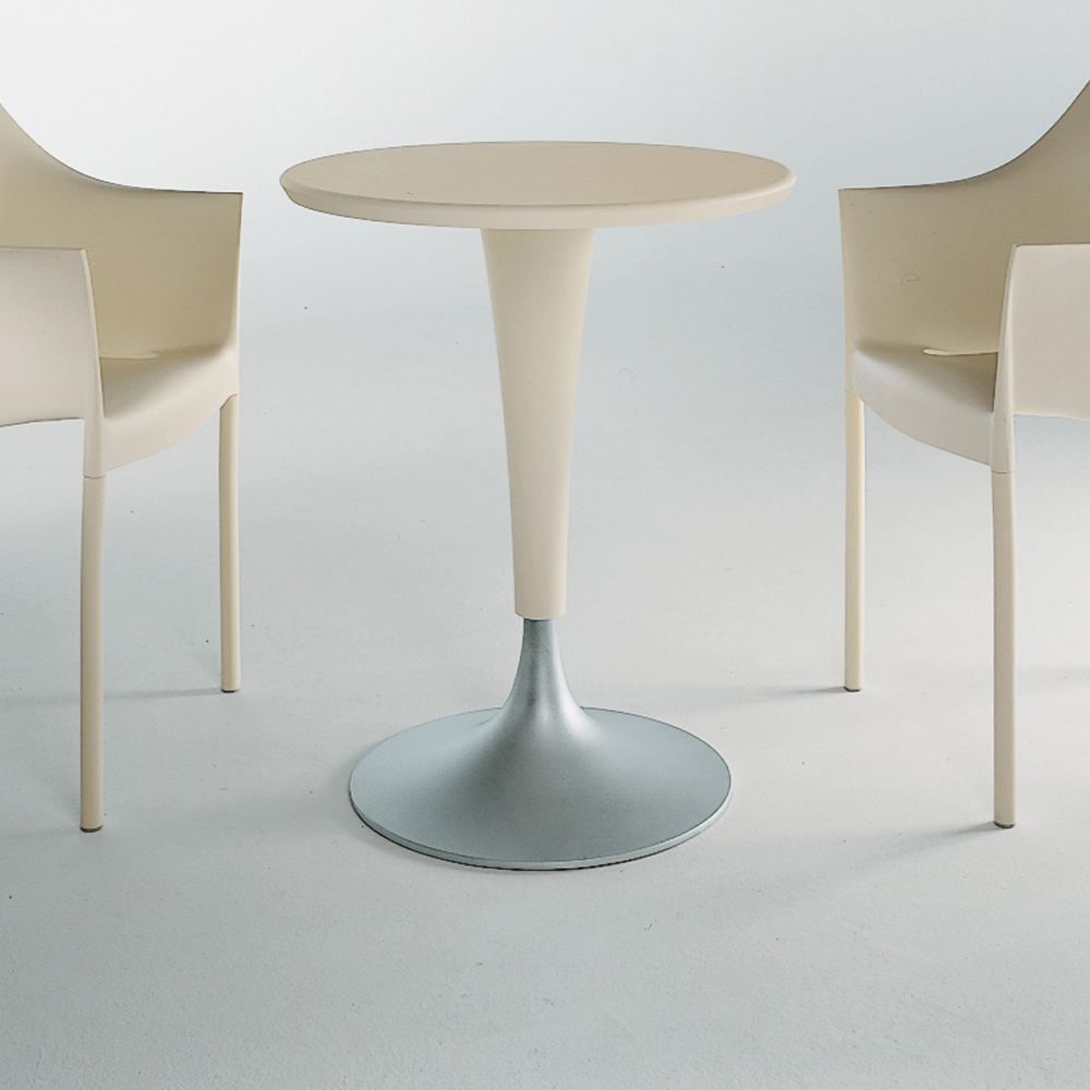 Dr na table caf design kartell 60 cm de diam tre en for Table exterieur kartell
