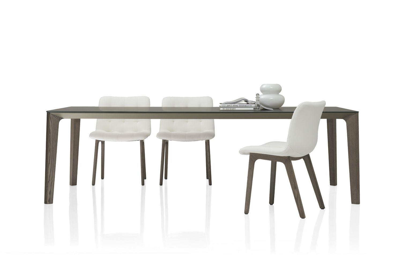 Versus designer tisch bontempi casa 140 x 140 cm fest for Designer tisch 140