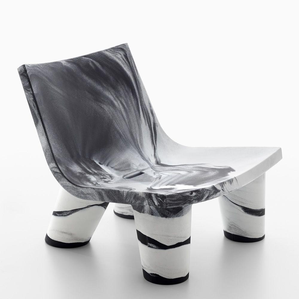 Low Lita Special Edition Slide Armchair In Polyethylene