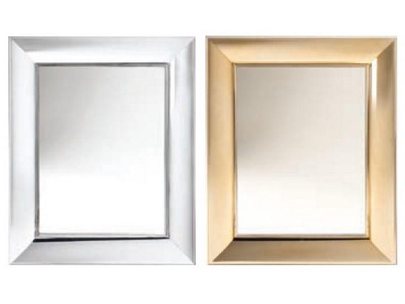 fran ois ghost miroir kartell de design avec cadre en polycarbonate en diff rentes couleurs et. Black Bedroom Furniture Sets. Home Design Ideas