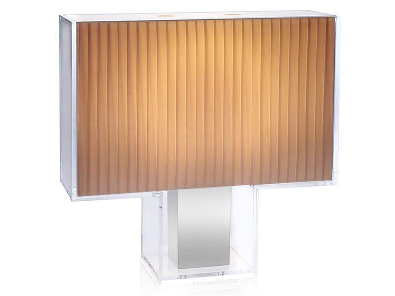 Lampada Da Tavolo Kartell Taj : Tatì plissé lampada da tavolo kartell in
