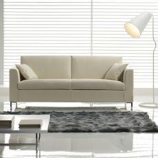 Ibisco - Divano a 2, 3 posti o 3 posti XL, diversi rivestimenti e colori disponibili, anche divano letto