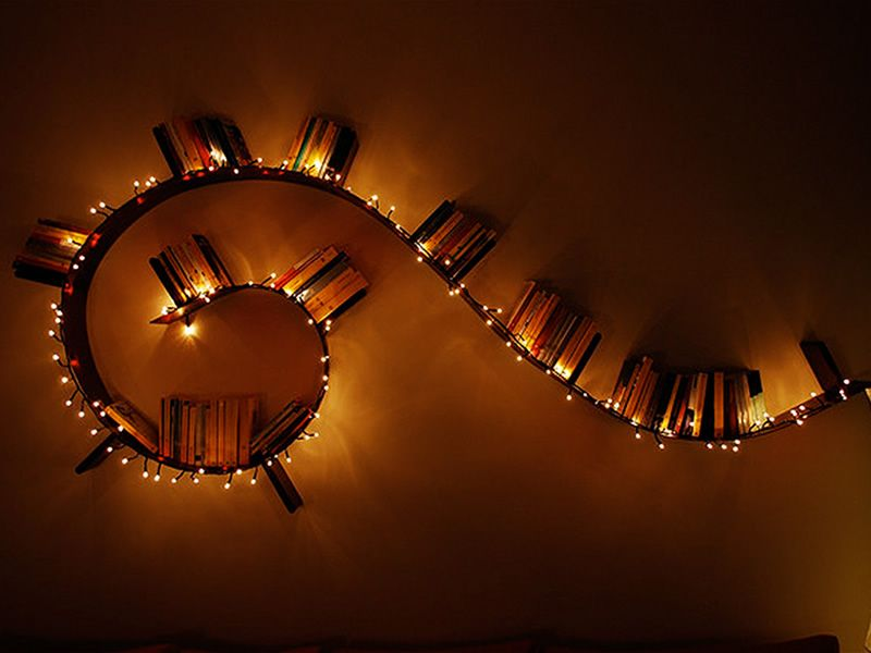 Bookworm popworm: kartell design bookcase in pvc different shapes