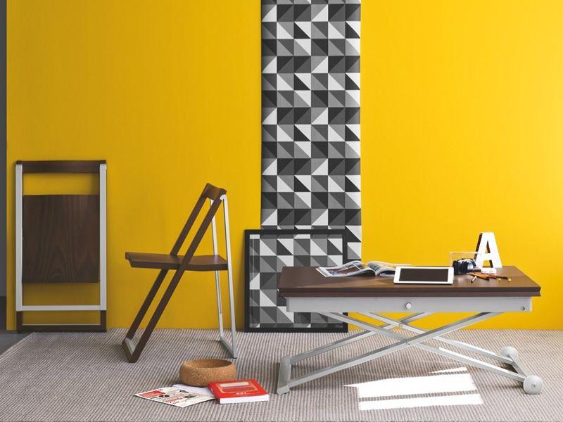 ... CB207 Skip   Folding Chair Made Of Aluminium And Wengè Beech ...