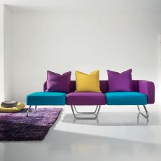 Pills - Design sofa by Adrenalina, available in 2, 3 or 4 places, different color combinations