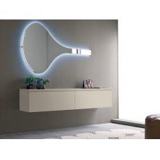 Logika 6 - Mobile ingresso con specchio, disponibile in diversi colori