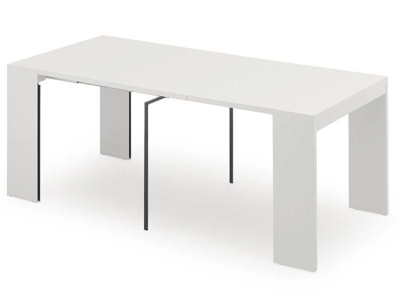 lima console idealsedia 90x45 cm allongeable table de. Black Bedroom Furniture Sets. Home Design Ideas