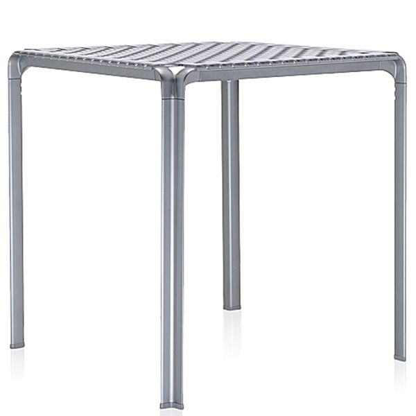 Elegant Ami Ami Table: Kartell Design Metal Table, 70x70cm Polycarbonate .