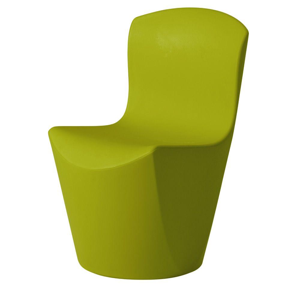 zoe stuhl slide aus polyethylen auch mit led