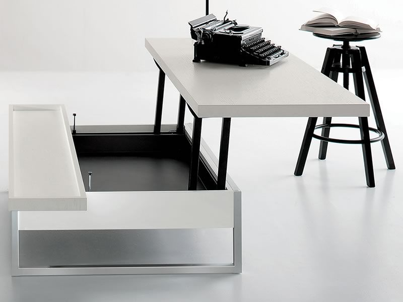 adone petite table de salon transformable en bureau. Black Bedroom Furniture Sets. Home Design Ideas