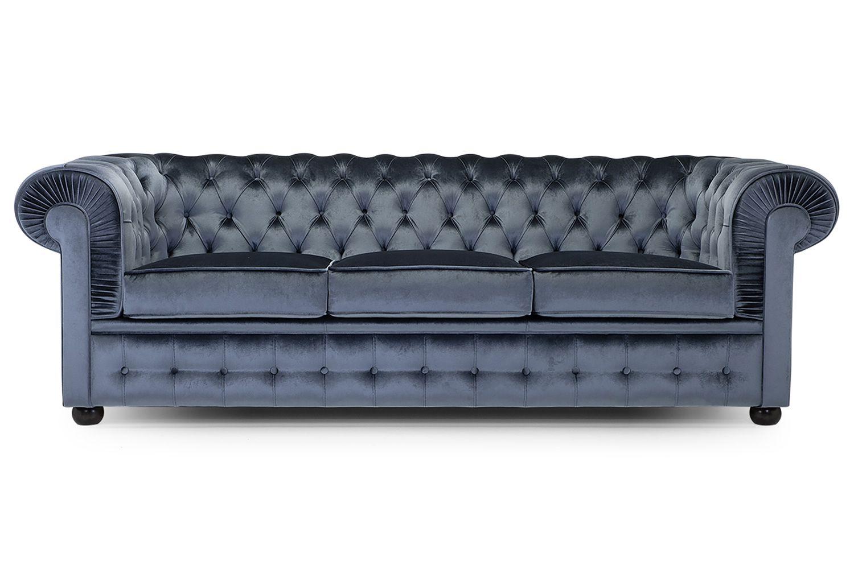 800 xl divano classico domingo salotti 3 posti for Divano quattro posti