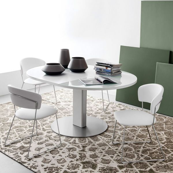 Cb4756 rd thesis table rallonge connubia calligaris for Table a rallonge en verre