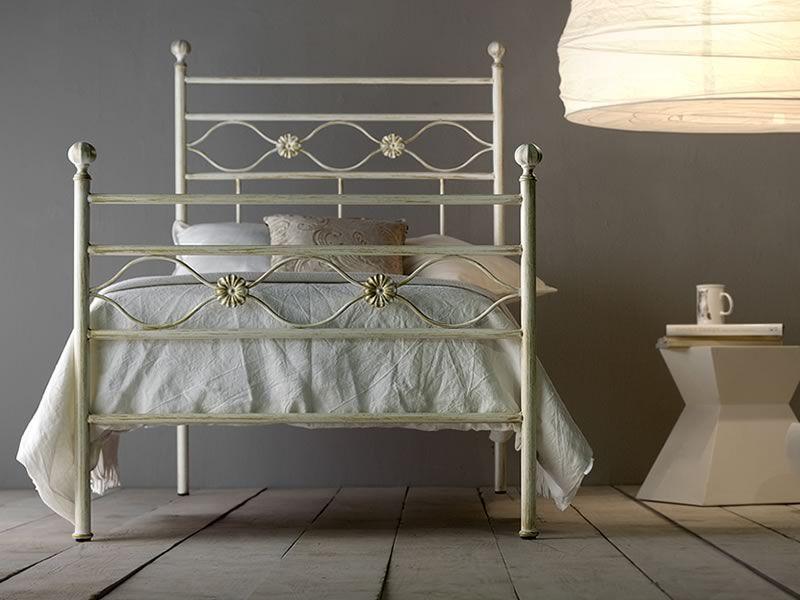 Incanto s cama individual de hierro disponible en varios for Cama hierro