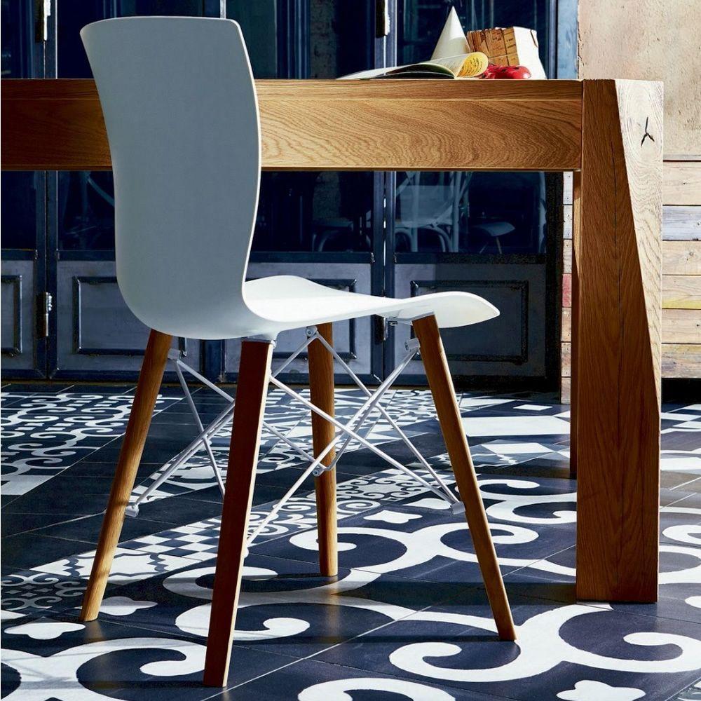 Rap wood sedia colico in legno e polipropilene diversi colori sediarreda - Sedia di design ...