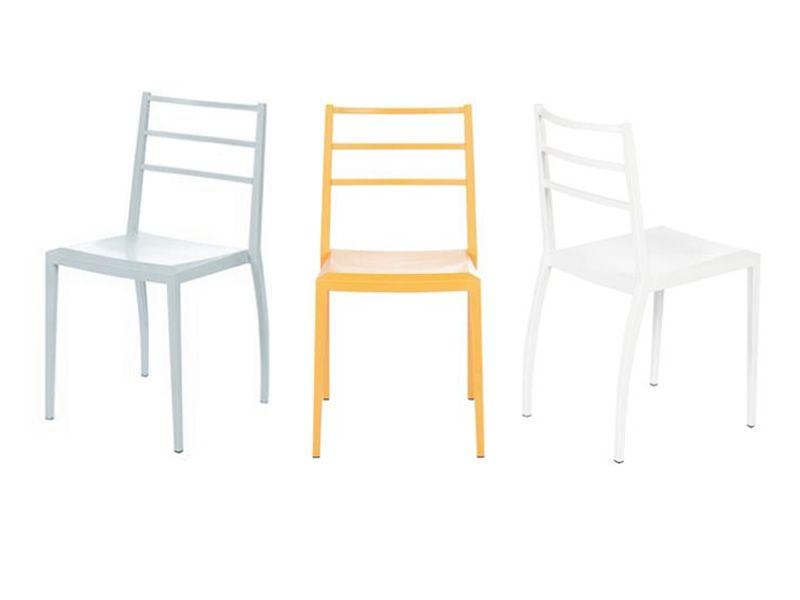 Prisma chaise moderne en technoplym re de diff rentes for Chaise en couleur