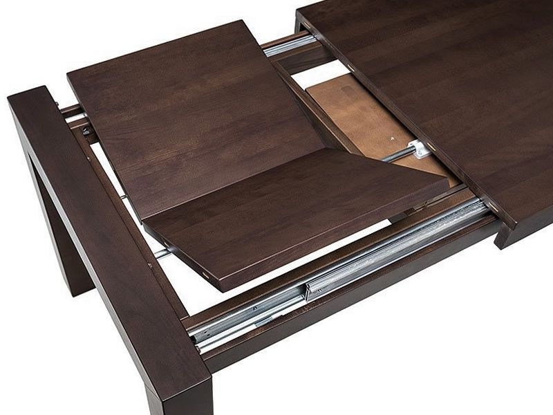 Grand A Ton Table In Wood Rectangular Top 90 X 180 Cm