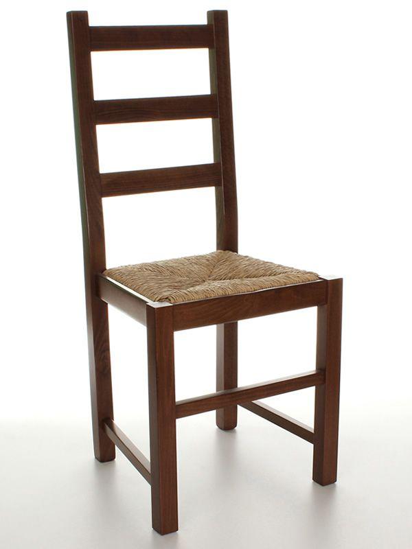 Mu82 pour bars et restaurants chaise rustique en bois pour bars et restaurants assise en bois - Chaise rustique bois et paille ...