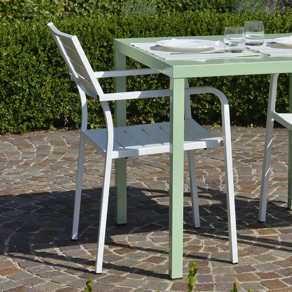 Rig72p pour bars et restaurants chaise en m tal avec for Vernis pour metal exterieur