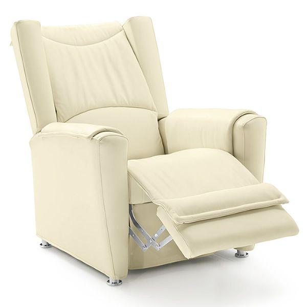 Heka poltrona massaggiante elettrica in tessuto for Poltrona massaggiante