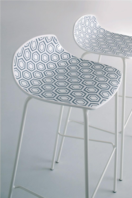 alhambra s tabouret design en m tal et technopolym re en. Black Bedroom Furniture Sets. Home Design Ideas