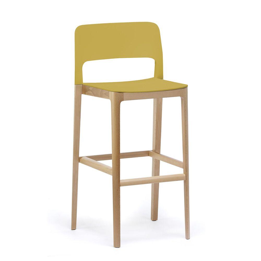 settesusette sg hocker infiniti aus holz sitz und r ckenlehne aus polypropylen sitzh he 64 7. Black Bedroom Furniture Sets. Home Design Ideas