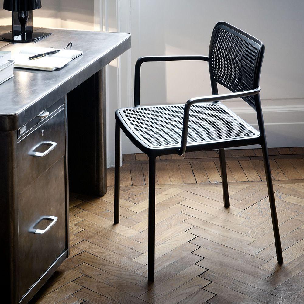 Audrey design kartell chair in aluminum and plastic for Sedie design kartell