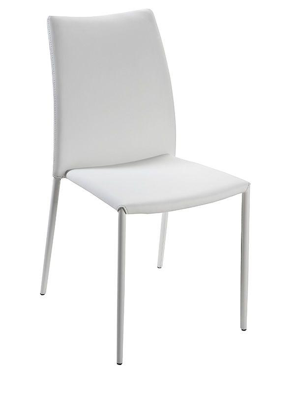 vr40 chaise empilable rev tue en simili cuir disponible en diff rentes couleurs sediarreda. Black Bedroom Furniture Sets. Home Design Ideas