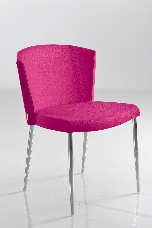 so chic designer stuhl von chairs more aus metall mit