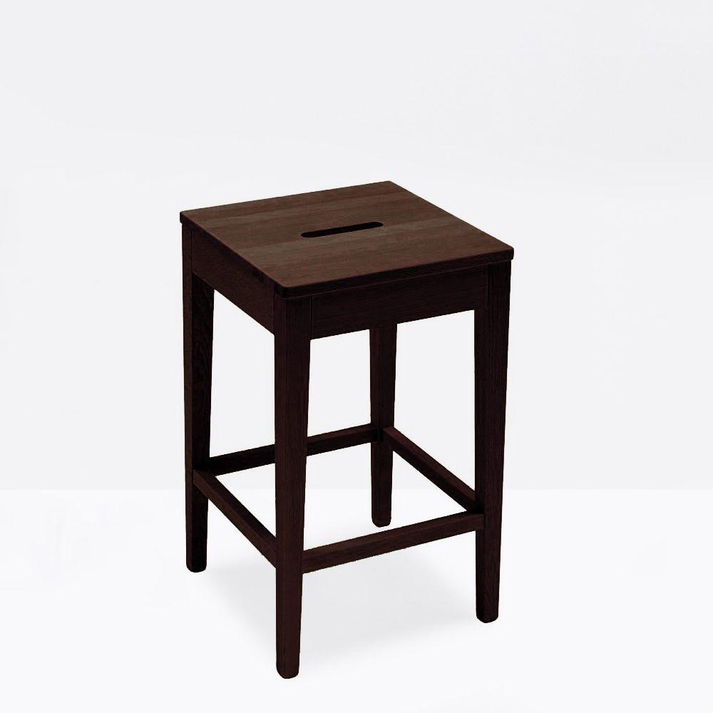 cs1103 la locanda w outlet tabouret connubia calligaris en bois teinte weng hauteur 60 cm. Black Bedroom Furniture Sets. Home Design Ideas