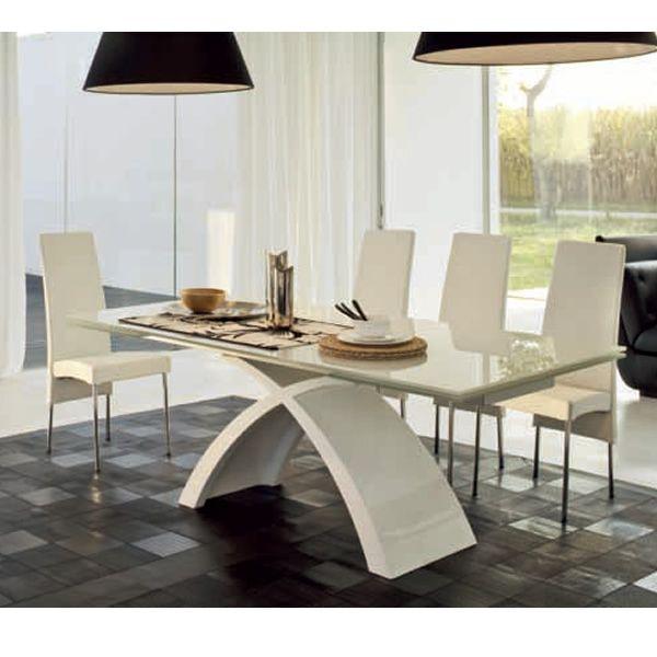 tokyo a 6951 table rallonge tonin casa en marbre