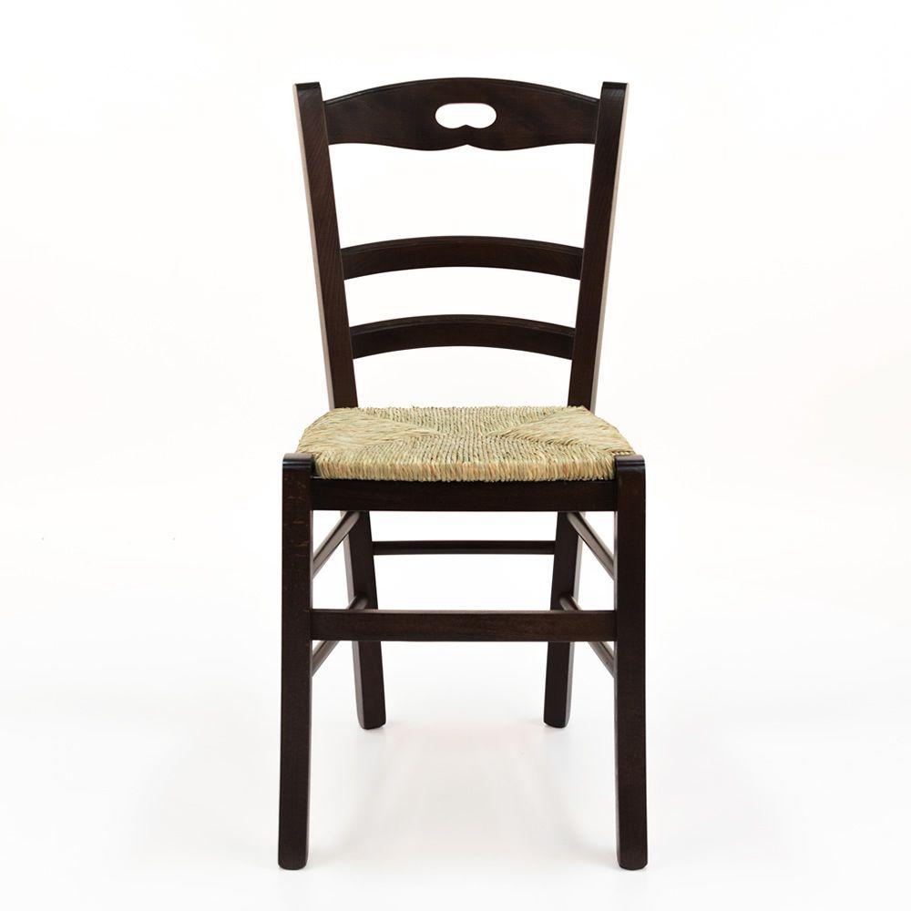 125 pour bars et restaurants chaise rustique en bois for Chaise rustique bois et paille
