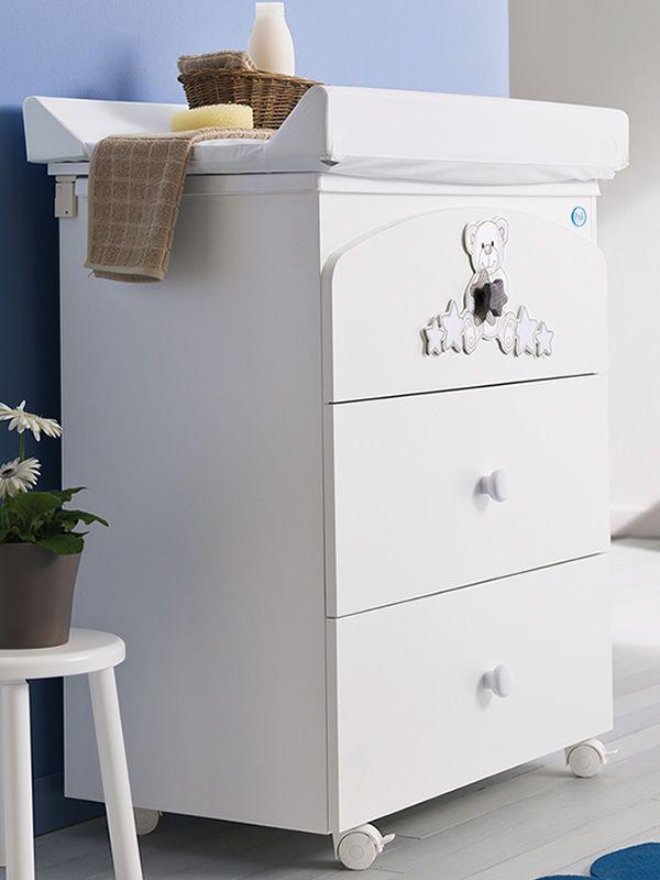 meggie f wickelkommode mit badewanne pali mit 3. Black Bedroom Furniture Sets. Home Design Ideas