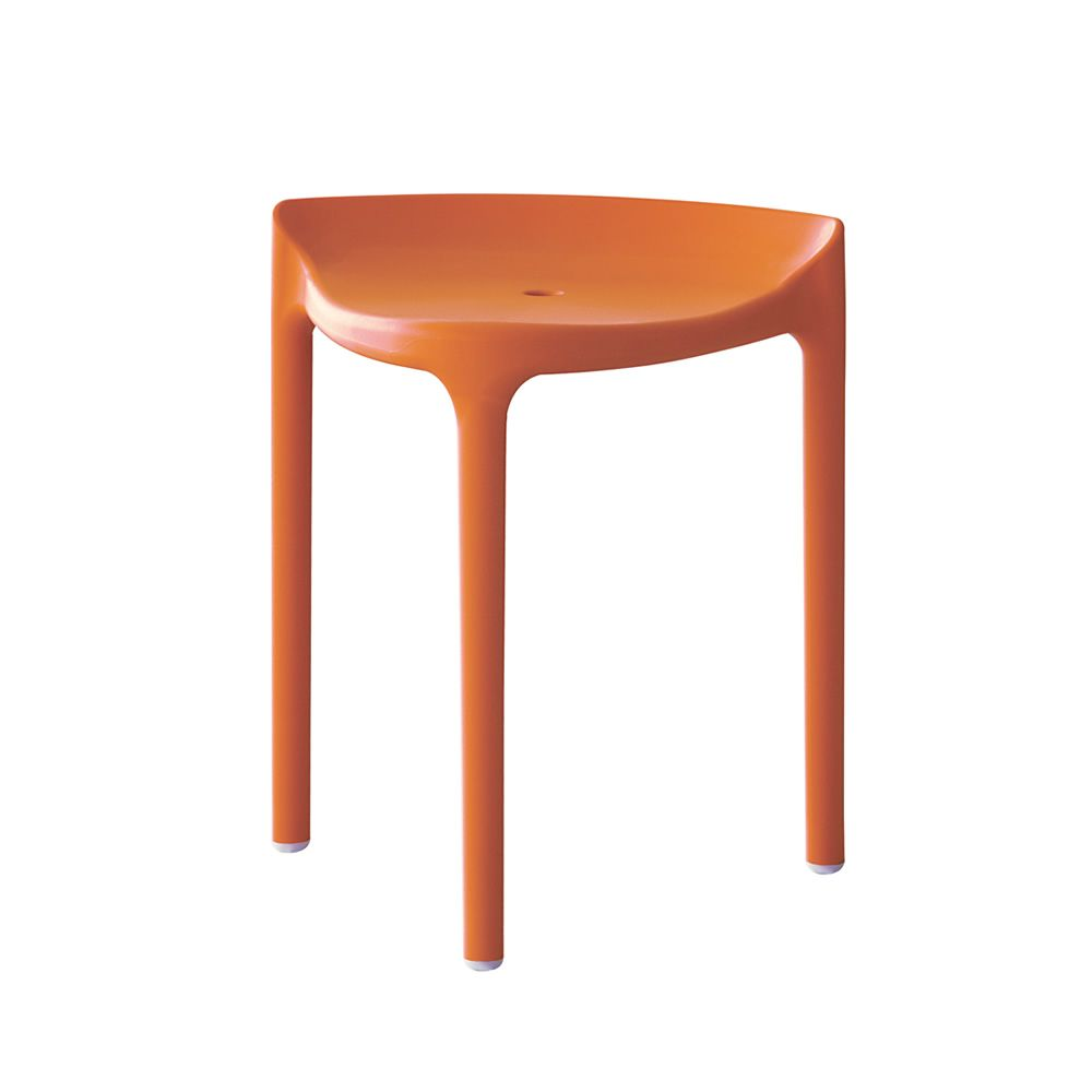 Happy 491 pour bars et restaurants tabouret bas de bar en polypropyl ne empilable hauteur for Tabouret bar couleur