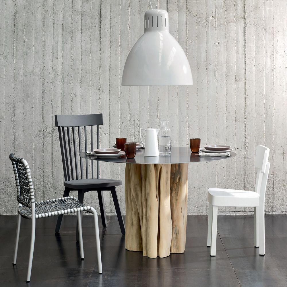 Brick 32 36 tavolo gervasoni in legno massello con - Tavolo braccio di ferro ...